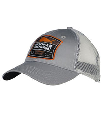 Bull Dolphin Shield Fishing Trucker Hat