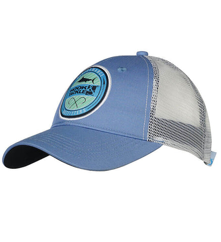 Marlin Run Fishing Trucker Hat