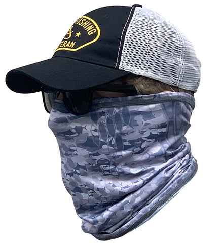 Geofish Camo Sun Fishing Neck Gaiter