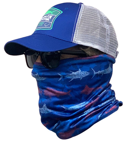 Fish & Stripes Sun Fishing Neck Gaiter