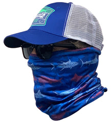 Fish & Stripes Face & Neck Gaiter