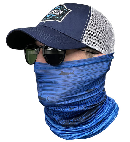 Marlin Gradient Face & Neck Gaiter