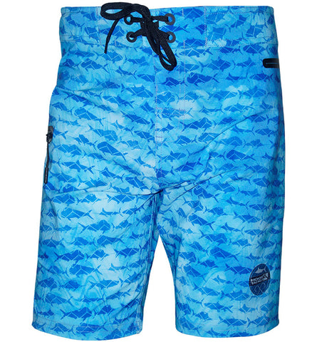 Men's Gamefish Camo Stretch Boardshort