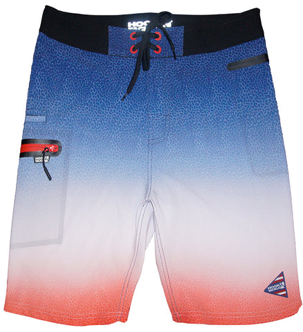 Men's Tri-Color Stretch Fishing Boardshort