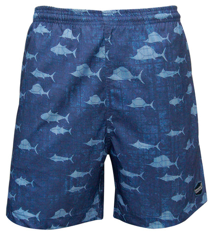 Men's Triple Threat Fishing Swim Trunk