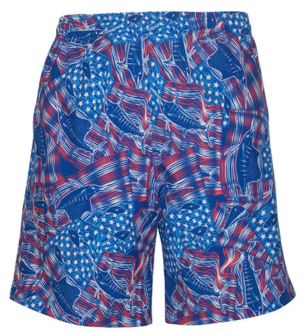 Men's American Billfish Fishing Swim Trunk