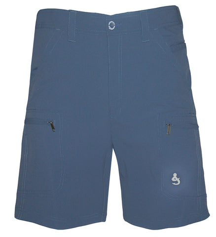 Men's Ripstop Driftwood 4-Way Stretch Fishing Short