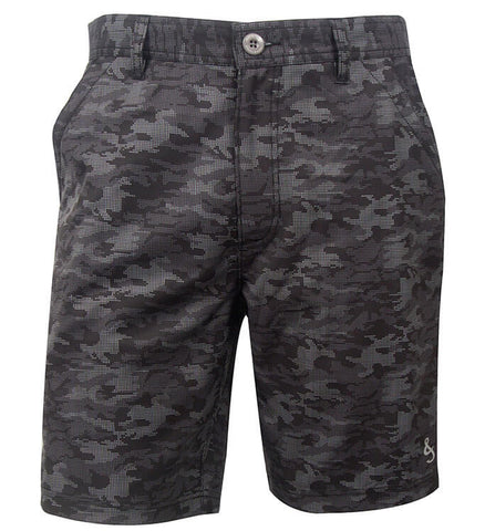 Men's Dot Camo Hybrid Stretch Short