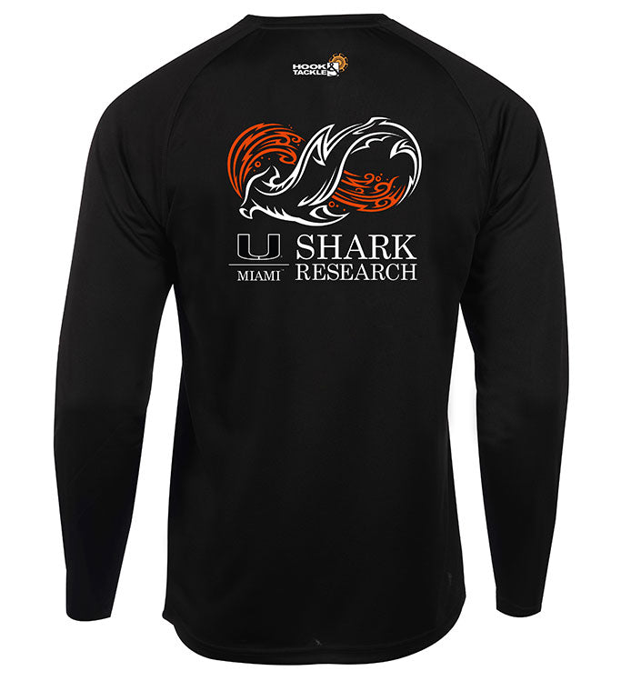Men's Univ. of Miami Seamount L/S Shirt