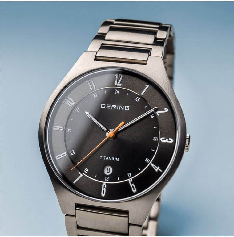 Bering Men's Ultra Light Titanium Watch