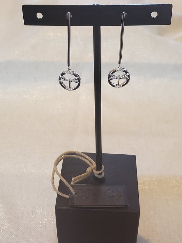 Uno De 50 1BY Metamorphosis Phase 1 Dragonfly Earrings
