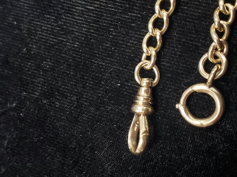 14K Yellow Gold 30.1g Watch Fob