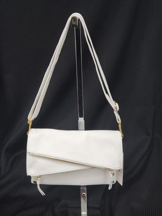 Hammitt White Leather Dillon Med-Ceramic White 2 Handbag
