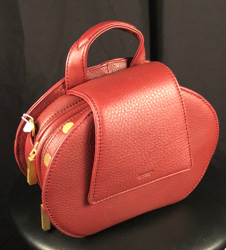 Gregory Crimson Handbag by Hammitt