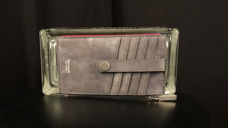 210 West Leather Card Wallet by Hammitt