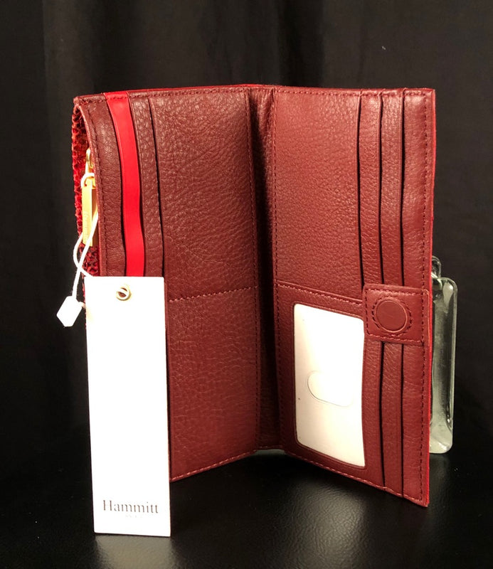 110 North Leather Wallet by Hammitt
