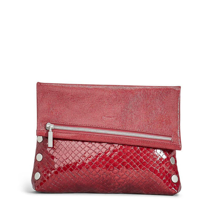 VIP Med Red Run Leather Handbag by Hammitt