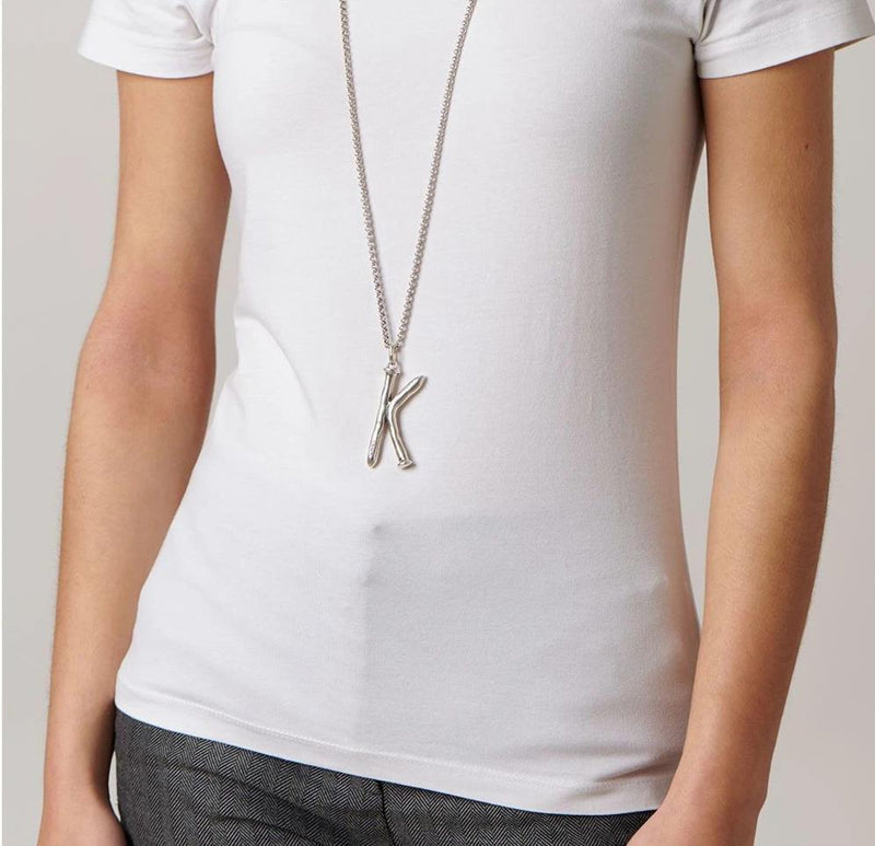 CHARM BAR COLLECTION: Large Letter K