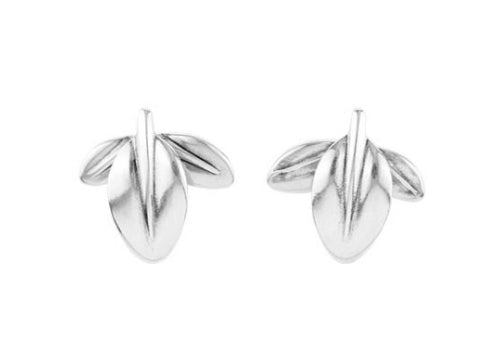 Uno De 50 Run Forrest Leaf  Convertible Earrings