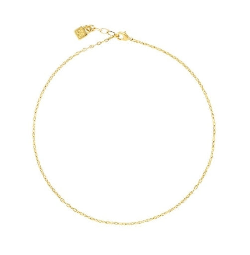 Uno De 50 18K Yellow Gold Plated Chain 5