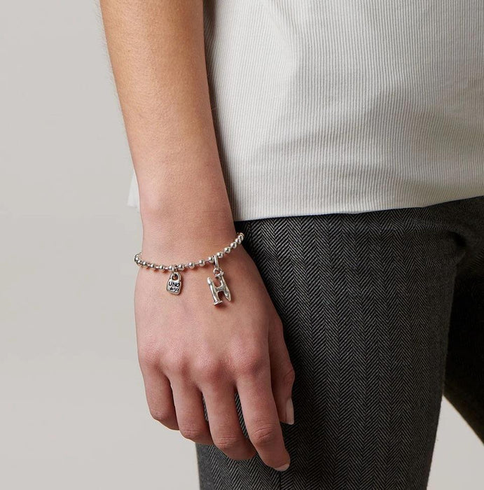 CHARM BAR COLLECTION: Little Letter H