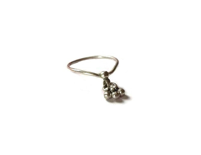 Charm ring made of Sterling Silver 925