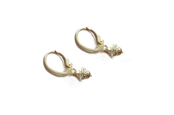 Acone hoop earrings - Silver 925