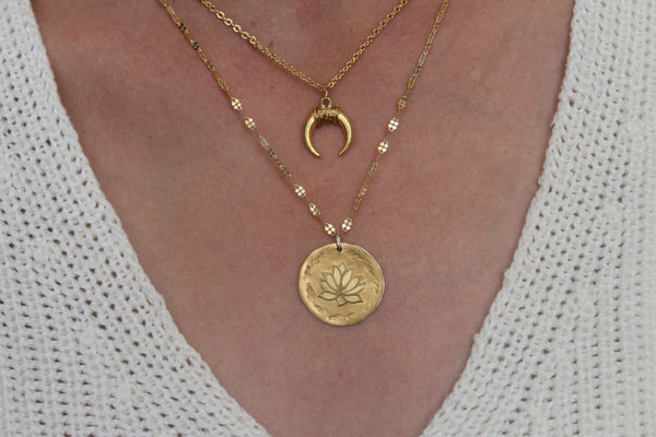 Luna Moon Goddess Necklace