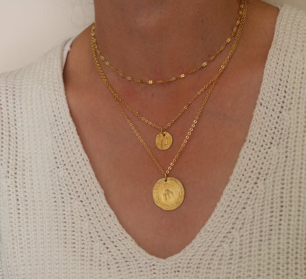 Theia Greek Goddess necklace
