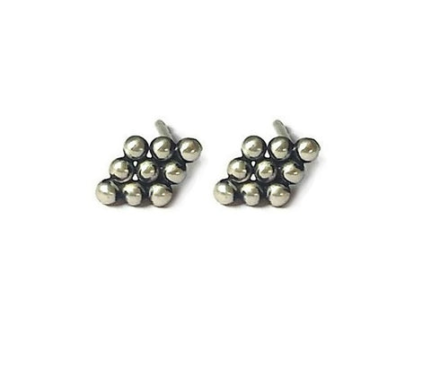 Tiny Diamond shape ball studs