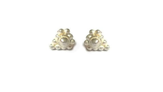 Egyptian style stud earrings made of Silver 925