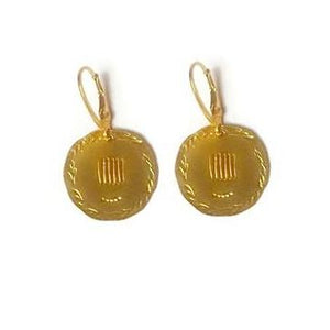 Eirene Greek Goddess earrings