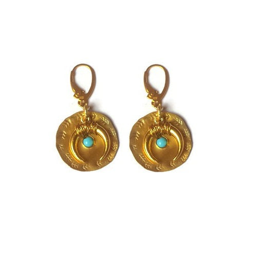 KaltraLuna Goddess Moon earrings