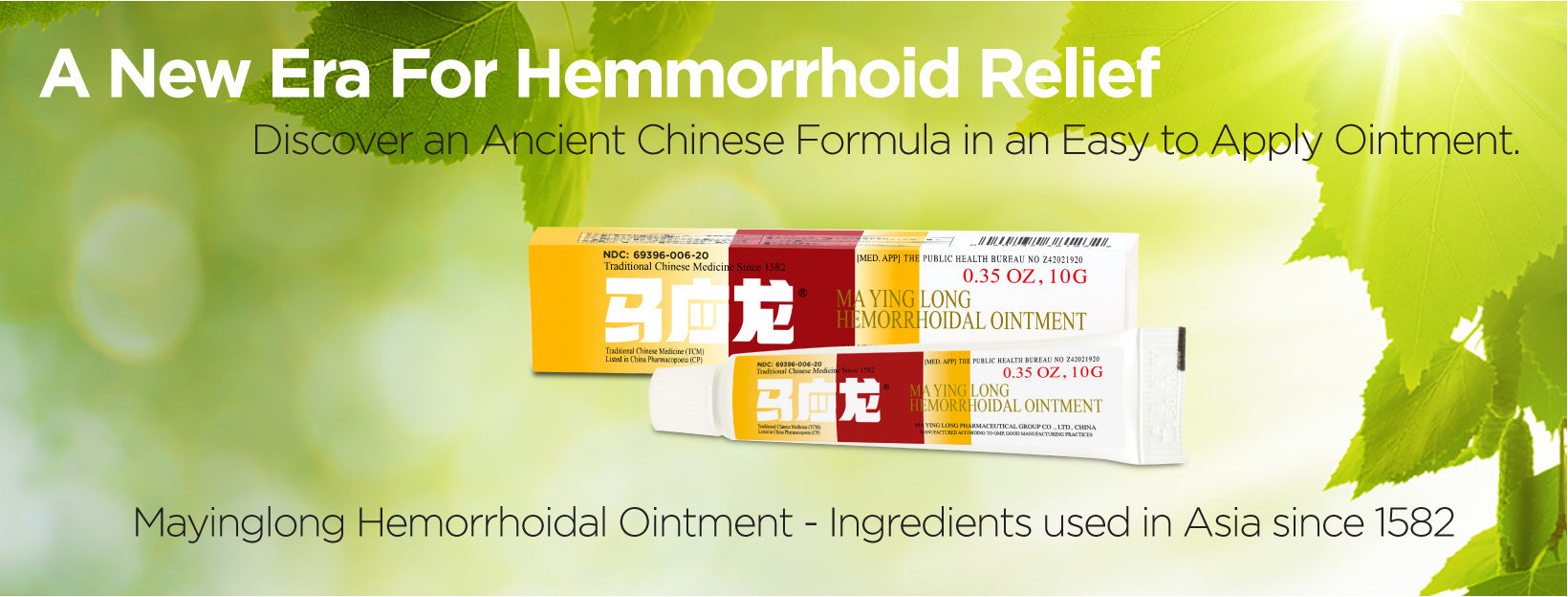 Mayinglong Ointment: first line treatment for hemorrhoids