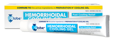 Hemorrhoid Treatment Cooling Gel, Fast Discomfort Relief with Vitamin E and Aloe (1.8 Ounce)