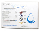 TRIORAL Oral Rehydration Salts (100 Packets Per Box)