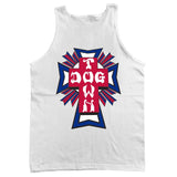 Dogtown Tank Top Cross Logo USA