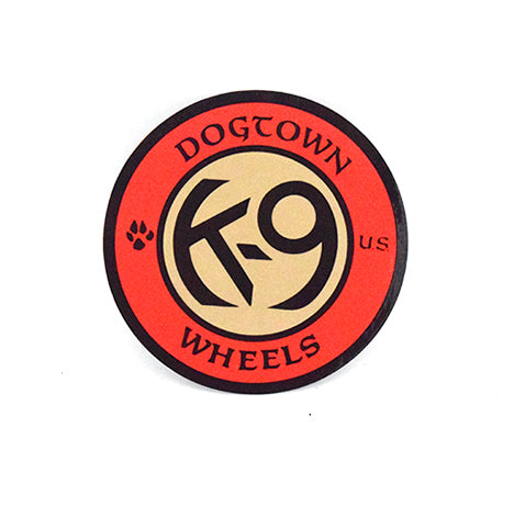 Dogtown Sticker - K-9 Wheels