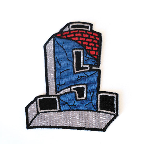 Suicidal Embroidered Patch Cross Logo Color