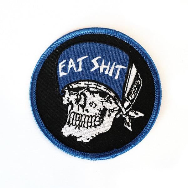 Suicidal Embroidered 'Eat Shit' Patch