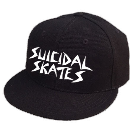 Suicidal Skates Hat Snapback Embroidered