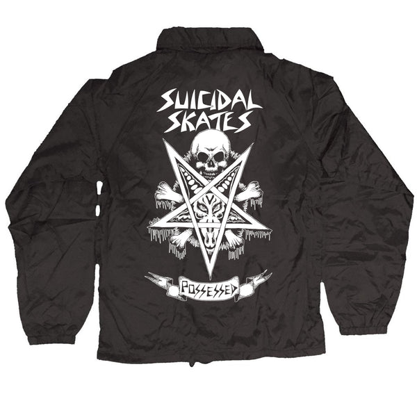 Suicidal Skates Windbreaker Possessed to Skate