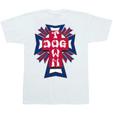Dogtown T-Shirt Cross Logo Color USA