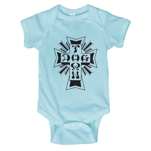 Dogtown Toddler Cross Logo Onesie