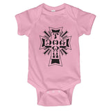 Dogtown Toddler Onesie Cross Logo
