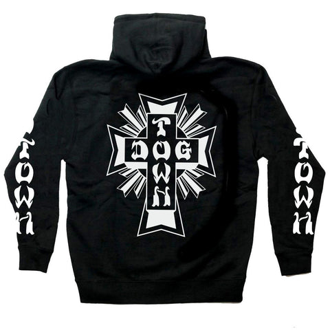 Dogtown Zip Hooded Sweatshirt Cross Logo