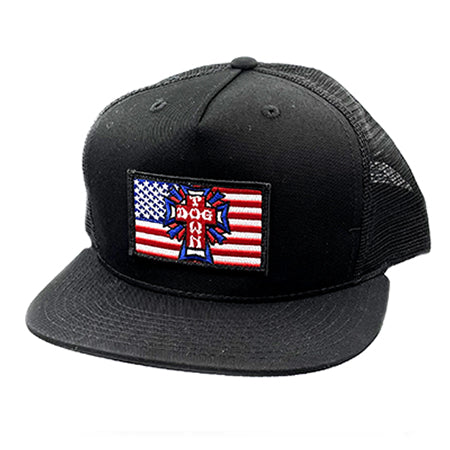 Dogtown Flag Patch Mesh Hat