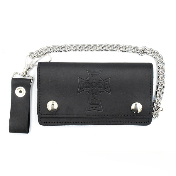 Dogtown Leather Chain Wallet