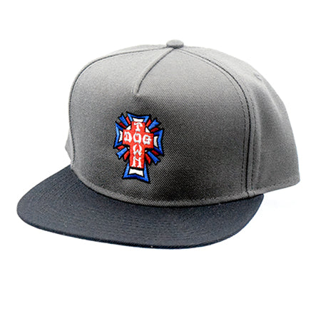 Dogtown Cross Logo USA Snapback Hat