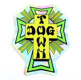 Dogtown Cross Logo Foil Sticker